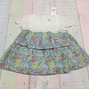 Gap Girls 0-3 Month Floral Dress & Bloomers